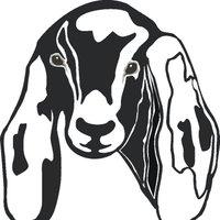 Nubian Goat Clipart.