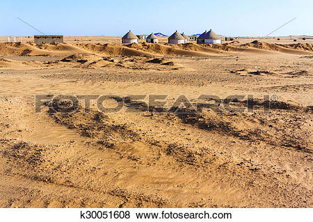 Pictures of Nubian village in Sudan k30051608.