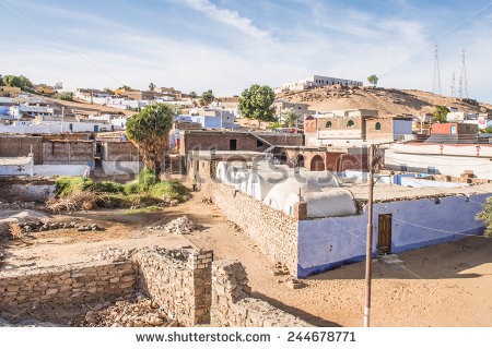 Nubian Village Stock Photos, Royalty.