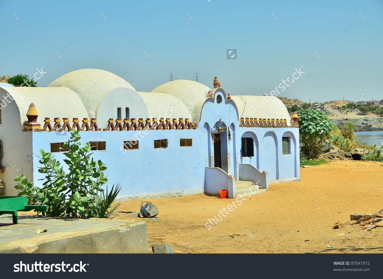 Nubian Village Egypt Aswan Region Stock Photo 87047972.