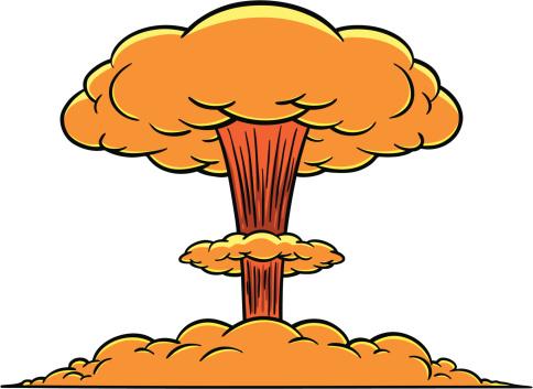 Explosion cloud clipart.