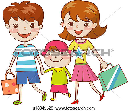Nuclear family Clipart EPS Images. 39 nuclear family clip art.