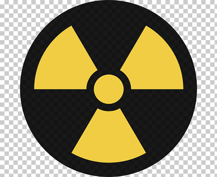 Nuclear power Nuclear weapon Symbol , Hazardous Waste PNG.