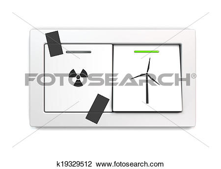 Stock Photo of nuclear phase.