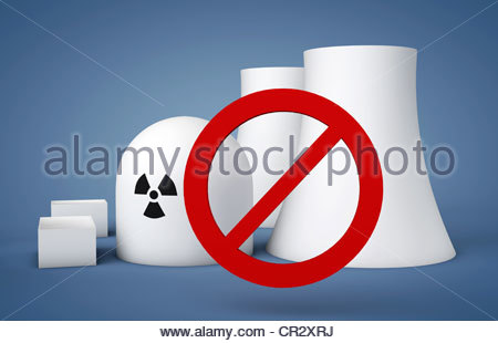 Symbolic Image, Rejection Oft Nuclear Power, Nuclear Power Phase.