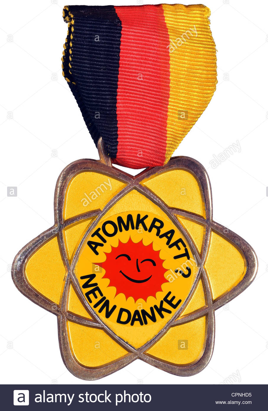 Symbol Image, Phasing Out Nuclear Energy, Pro Nuclear Medal From.