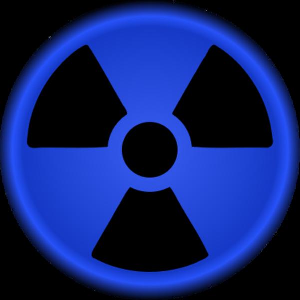Clipart nuclear symbol.