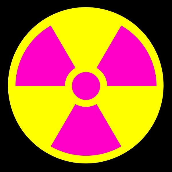 Nuclear Radiation Symbol.