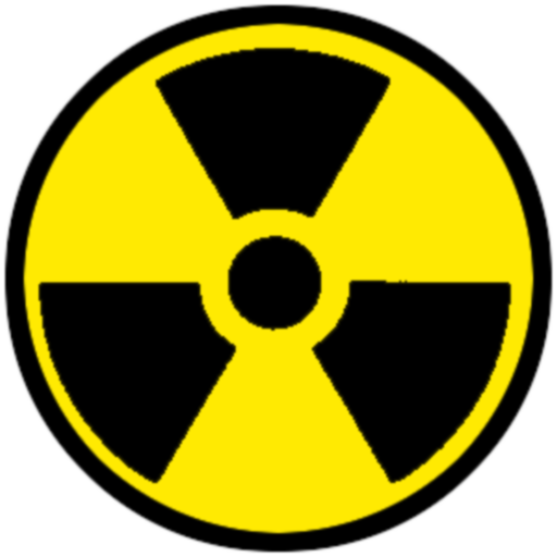 Radioactive decay Nuclear power Vector graphics Hazard.
