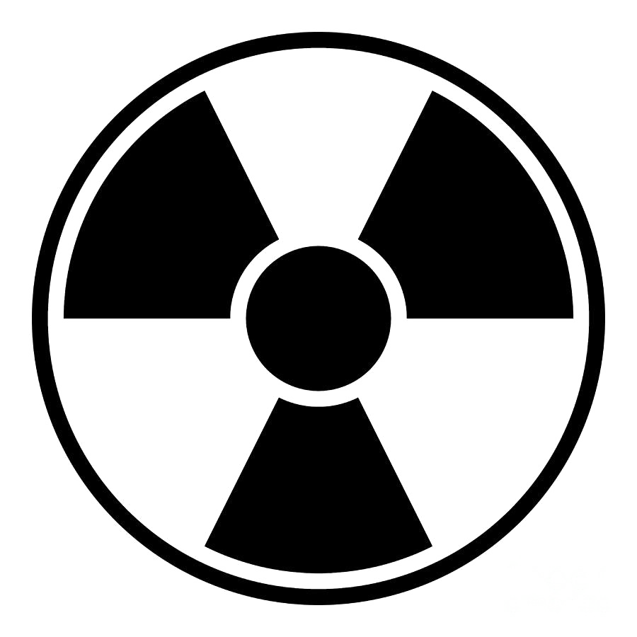 Nuclear Sign Transparent PNG.