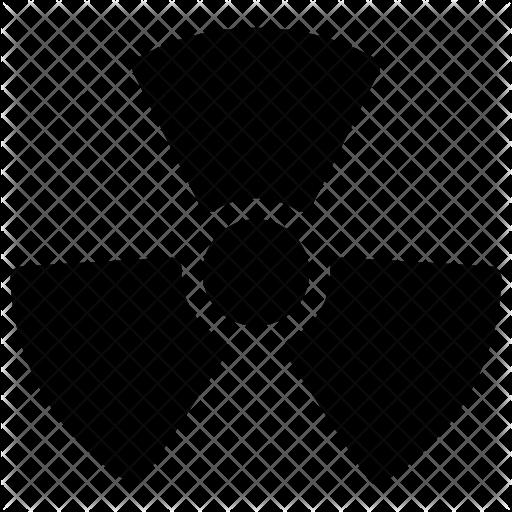 Nuclear symbol Icon.