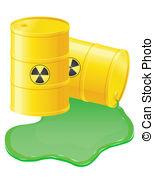 Radioactive waste clipart.