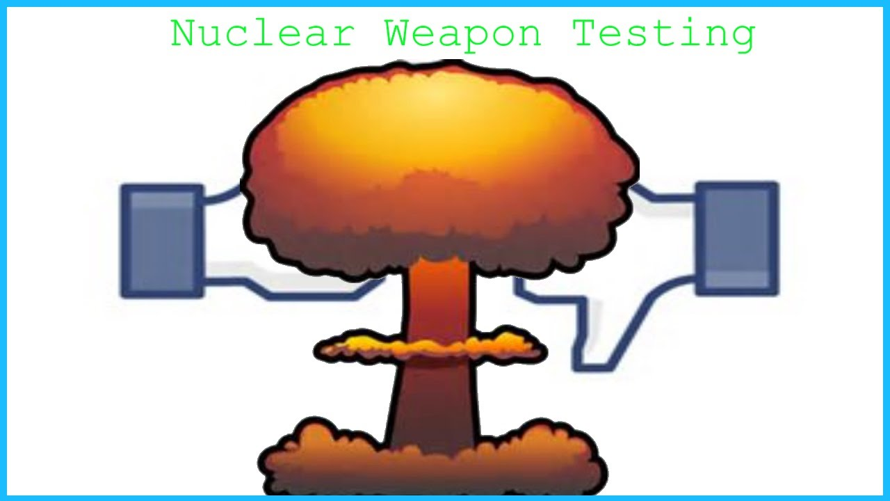 Nuclear Weapon Testing.