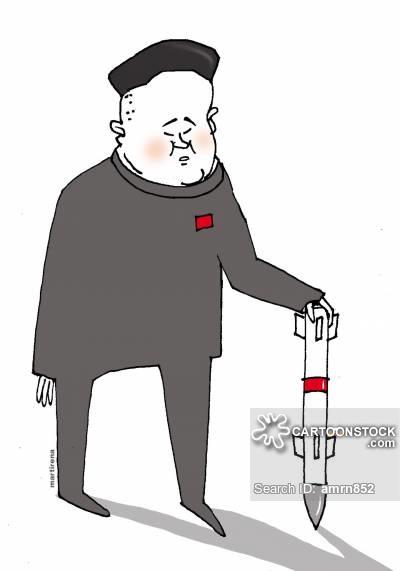 Nuclear Test News and Political Cartoons.