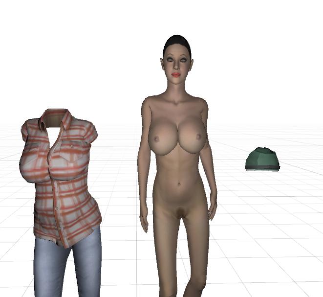 Nude Girl Collection 3D Model in Woman 3DExport.