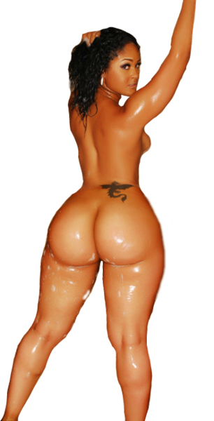 Maliah Michel Shower Nude (PNG).