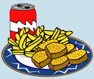 Coke Can Chicken Nuggets French Fries Clip Art at Clker.com.