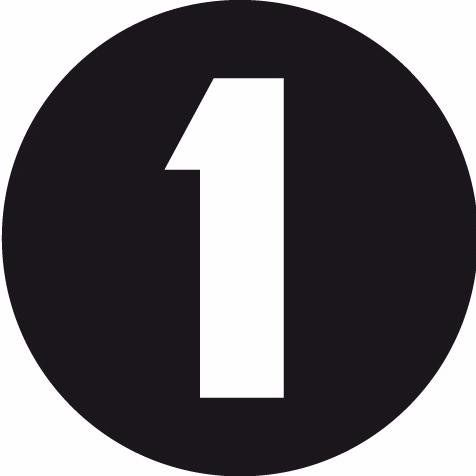 Entry #1 by mdebelentest001 for Design a number logo 2.