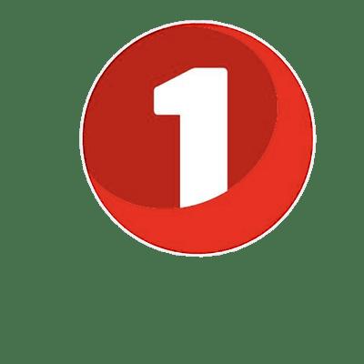 SpareBank 1 Number Logo transparent PNG.
