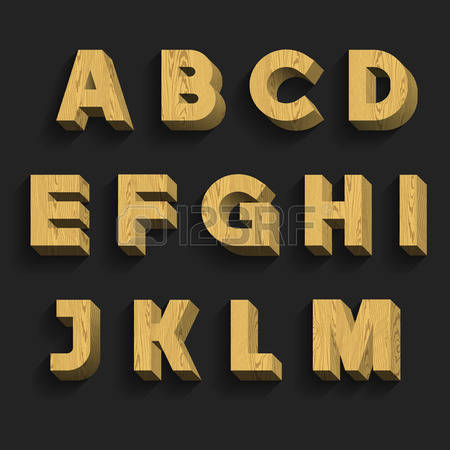 36,701 Wooden Letters Cliparts, Stock Vector And Royalty Free.