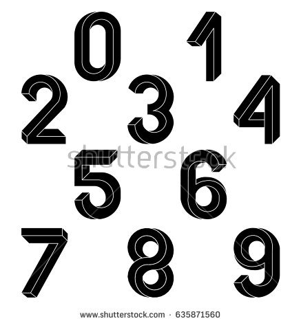 number 10 character clipart black and white clipground