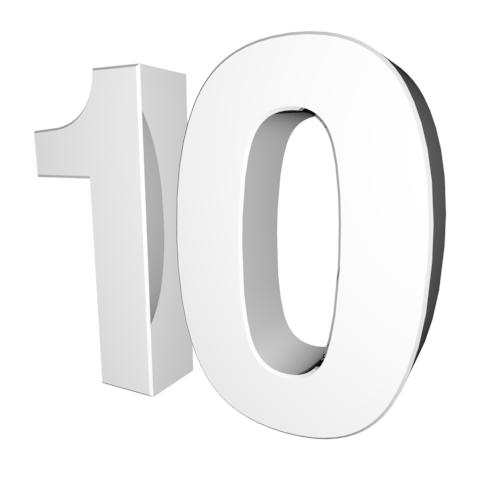 A perfect ten.