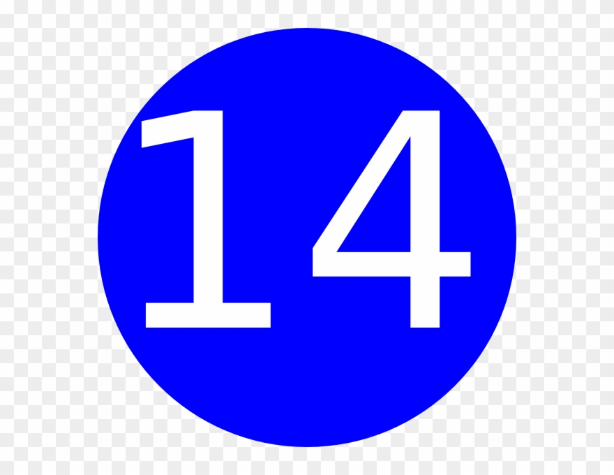 Number 14 Clipart 10 Free Cliparts