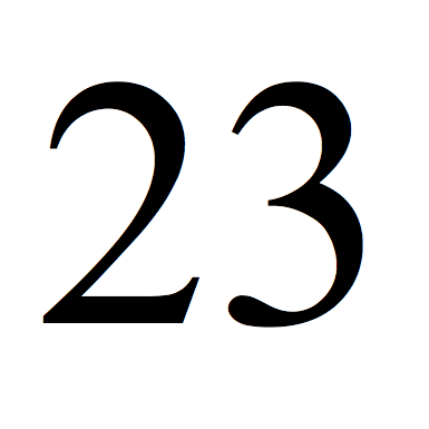 The Number 23 Png & Free The Number 23.png Transparent.