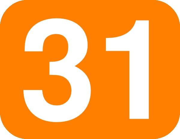 Orange 31 Clip Art at Clker.com.