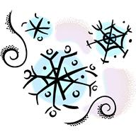 number 5 winter clipart #4