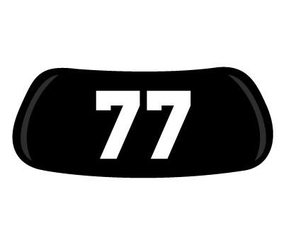 Number #77 Original EyeBlack.