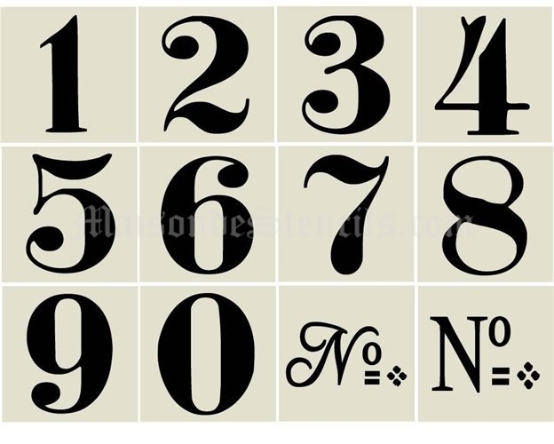 17 Best ideas about Number Fonts on Pinterest.