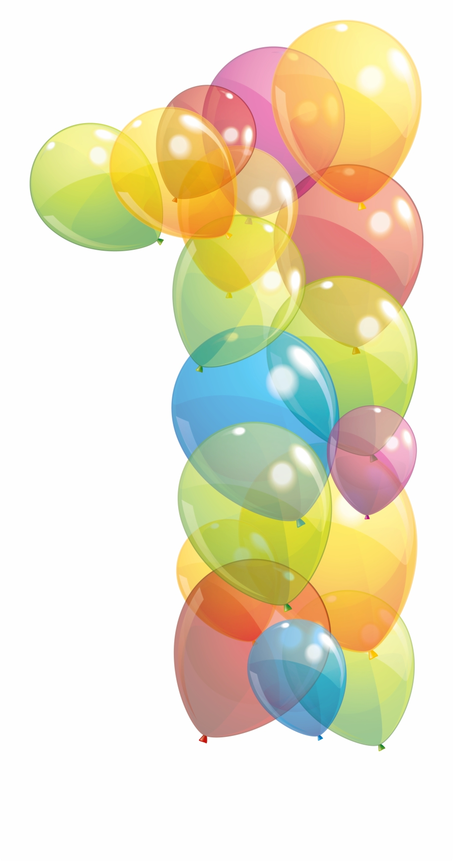 Balloon Box, Birthday Clips, Number Art, Number Balloons.