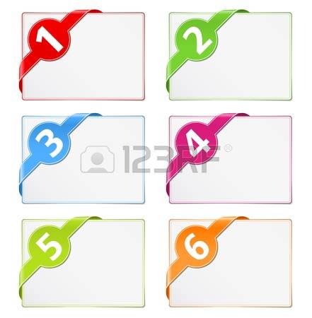 126,961 Number Banner Stock Vector Illustration And Royalty Free.
