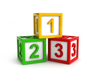 Number blocks clipart 2 » Clipart Station.