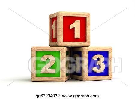 Number blocks clipart 4 » Clipart Portal.