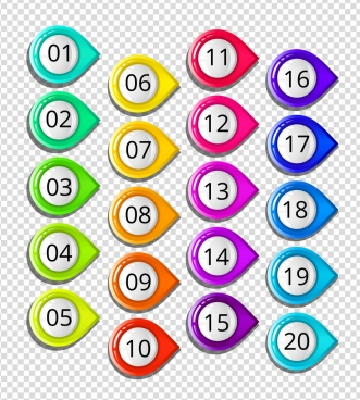 Number buttons free vector download (3,672 Free vector) for.