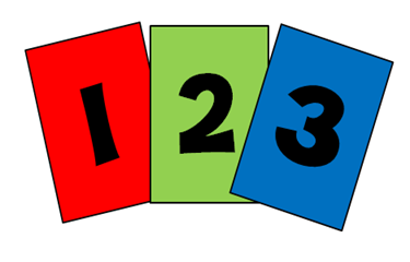 Number Cards Clipart.