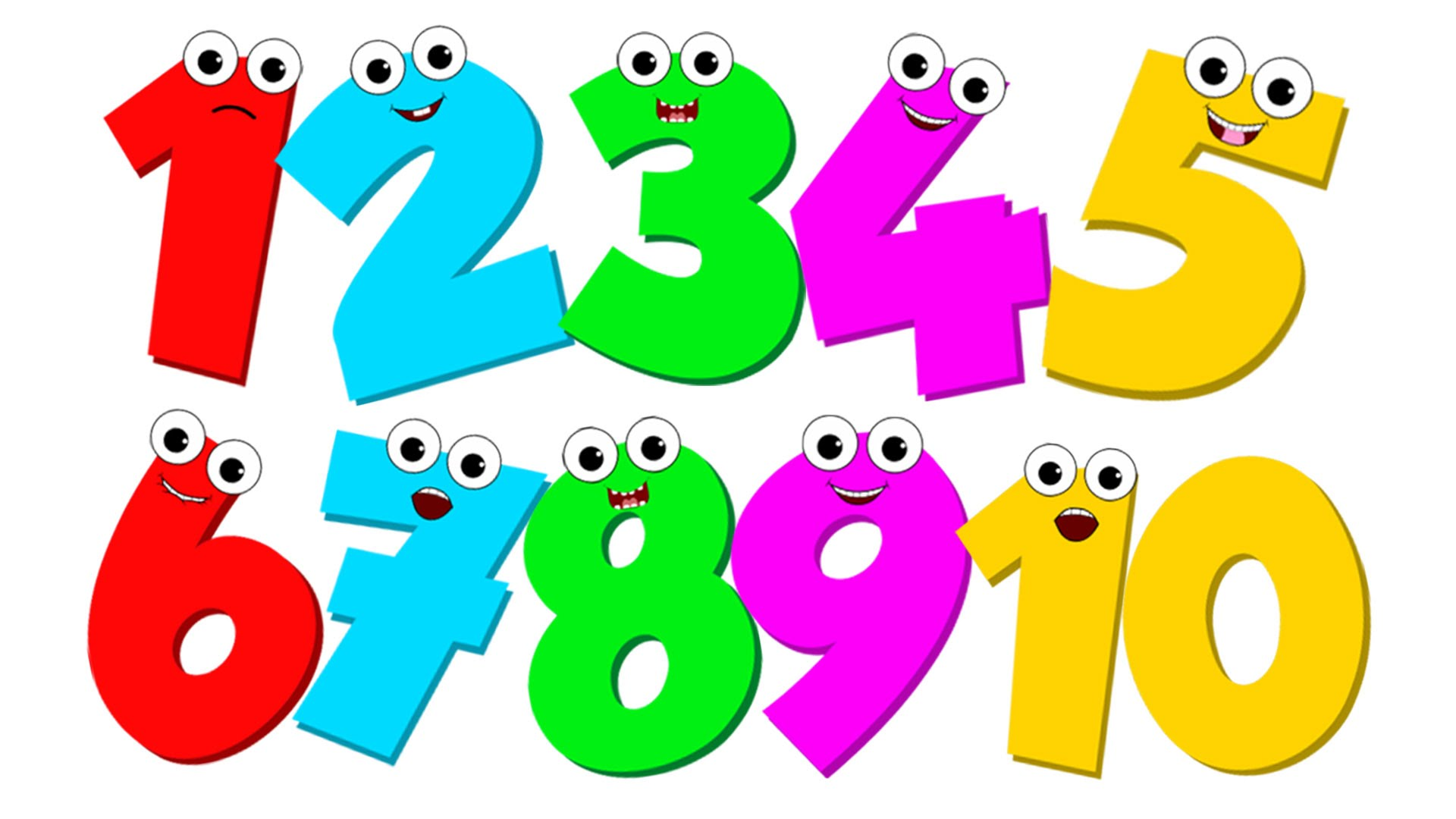 Ordinal Numbers Clipart.