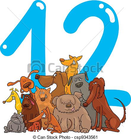 Number 12 Illustrations and Clipart. 1,718 Number 12 royalty free.