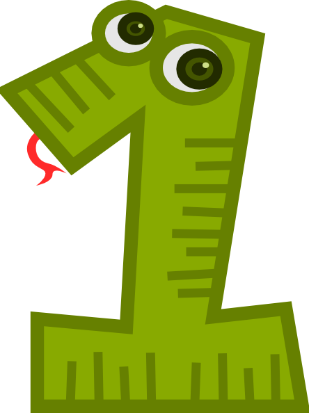 Clip Art Numbers 1.