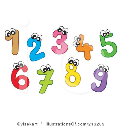 Number Clipart & Number Clip Art Images.