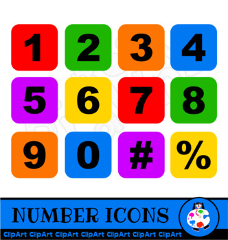 Free Clip Art Numbers.