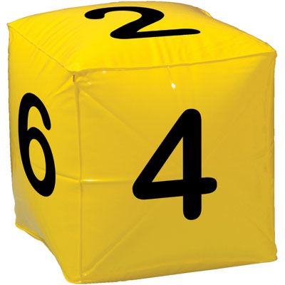 Number Cube Clipart.