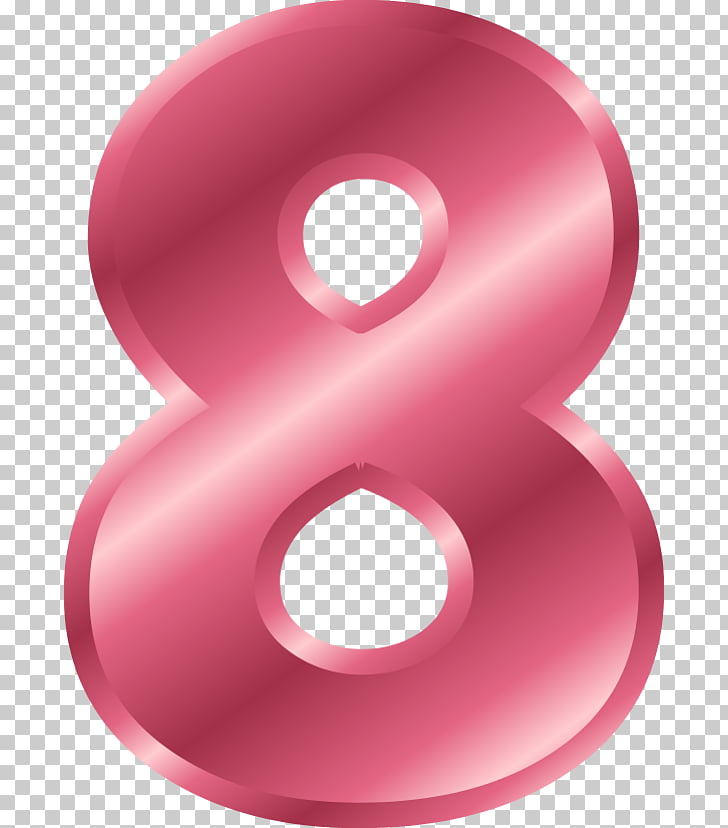 Number , eight PNG clipart.
