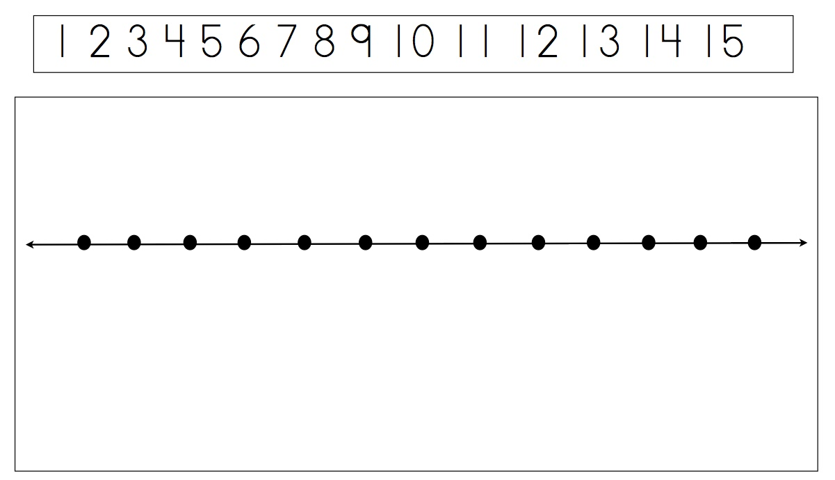 number line 0 to 30 clipart #8