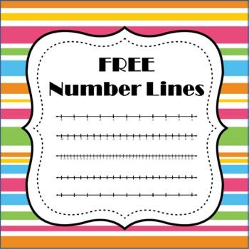 Number Line Desk Worksheets & Teaching Resources.