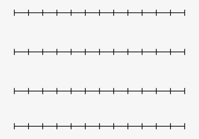 Math Clip Art Number Line Set.