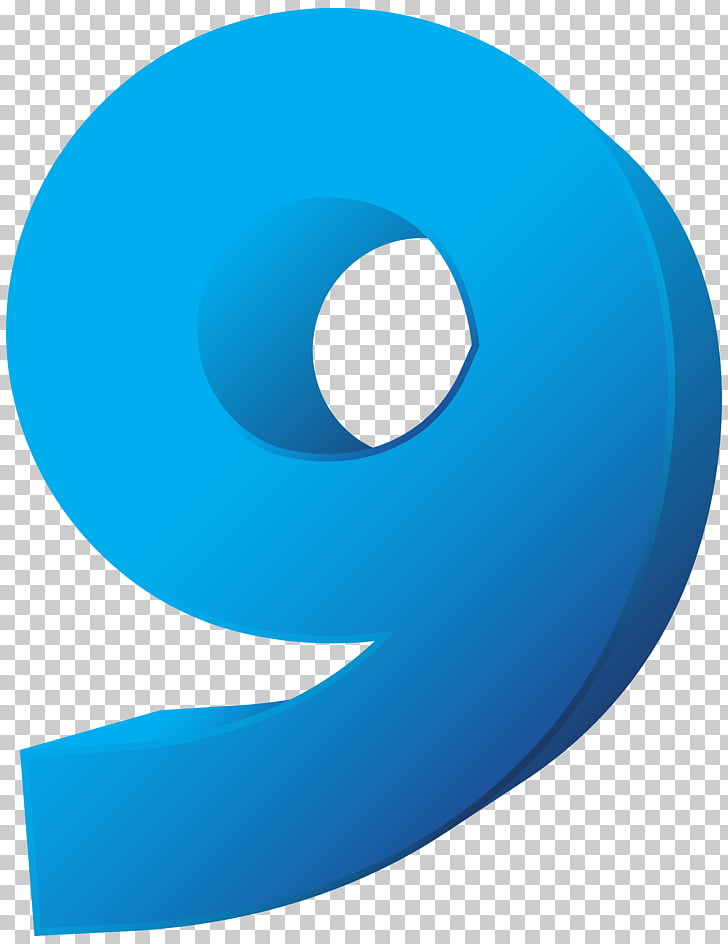 File formats Raster graphics Computer file, Blue Number Nine.