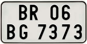 Number Plate Rules in India.
